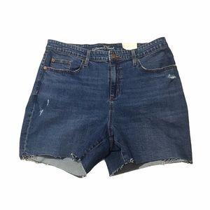 Universal Theresa cut off jean shorts. NEW